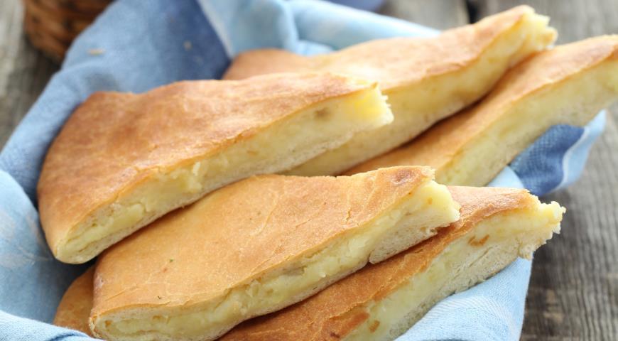 Пирог с картошкой и сыром в духовке рецепт пошагово 86