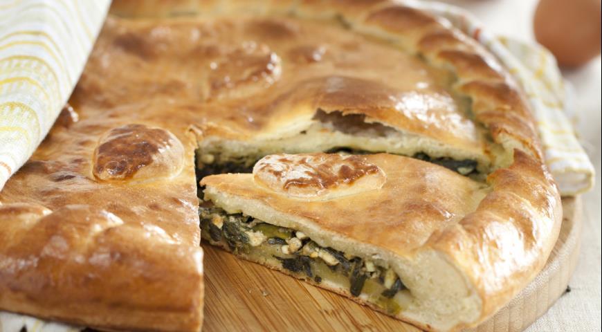 Рецепт Грузинский пирог с тархуном