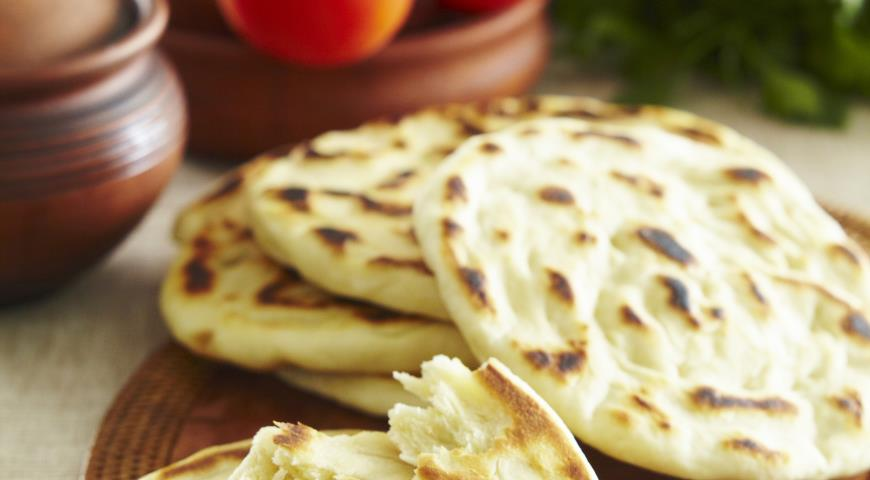 Рецепт Шткар фу, лезгинский слоеный хлеб