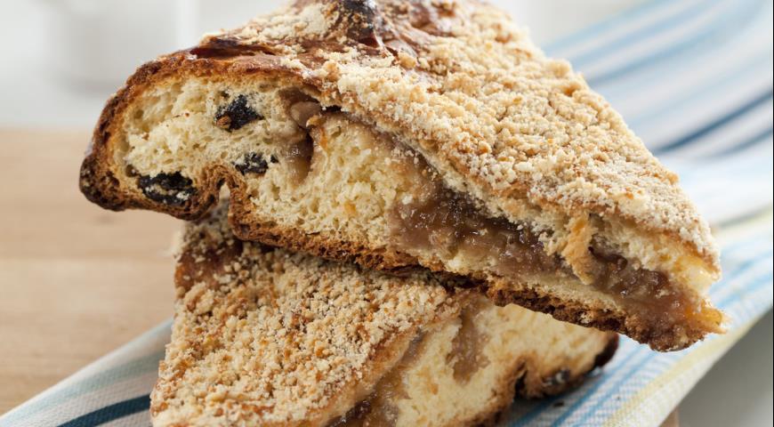 Рецепт Баркад, осетинский фруктовый пирог