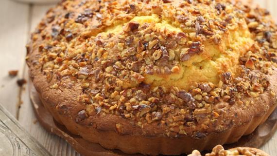 Ореховый пирог рецепт с фото пошагово