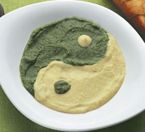 Суп-пюре из цветной капусты и брокколи