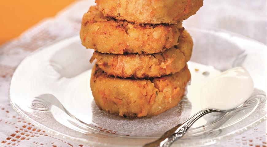 Рецепт Морковно-яблочные котлеты