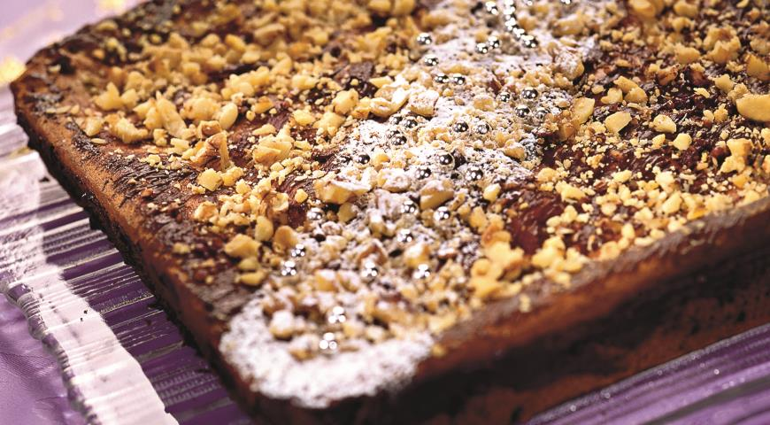 Рецепт Шоколадно-трюфельный торт