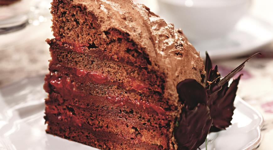 Рецепт Торт Шоколадный сад
