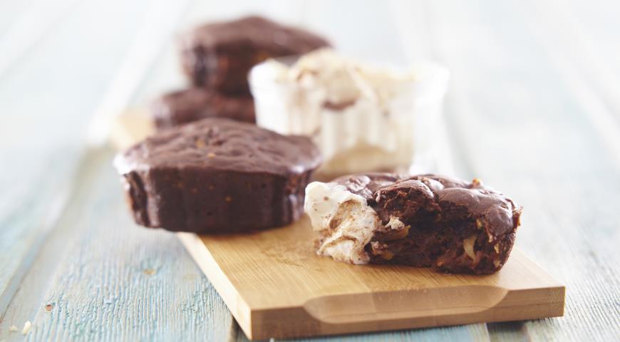 Рецепт Шоколадные кексы с цукини