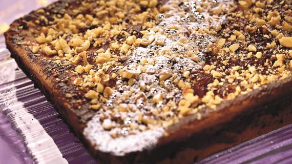 Шоколадно-трюфельный торт