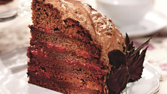 Торт Шоколадный сад