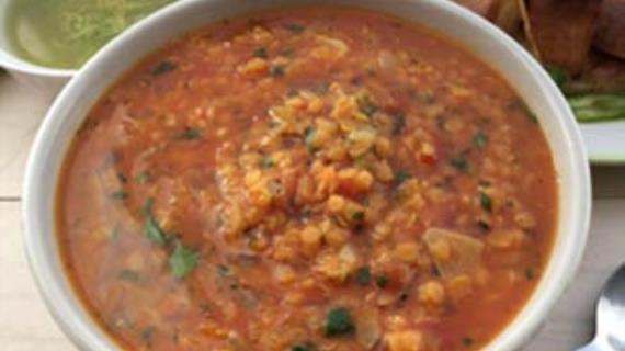 Чечевичный суп рецепт с фото
