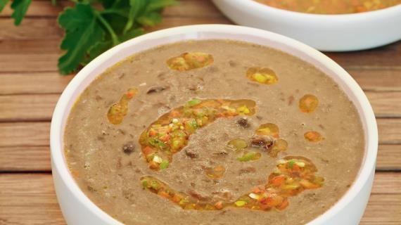 суп из фасоли рецепт с мясом пошаговый рецепт