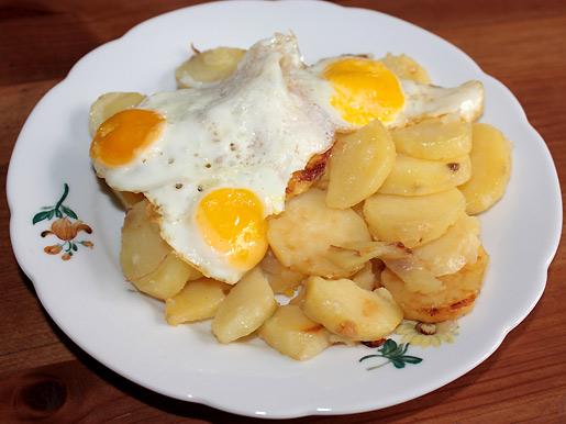 Рецепт Картошка по-испански