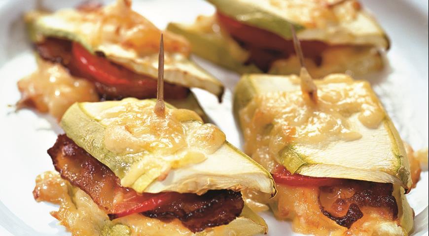 Рецепт Сэндвичи из кабачков