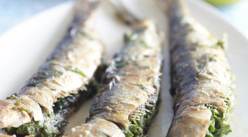 Рецепт Фаршированные сардины