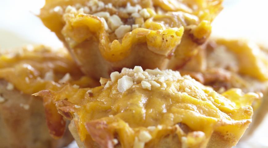 Рецепт Закусочные маффины с беконом и кукурузой
