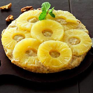 Рецепт Сладкая пицца с ананасами в мультиварке