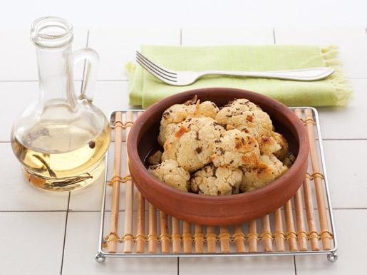 Рецепт Запеченная цветная капуста с горчицей