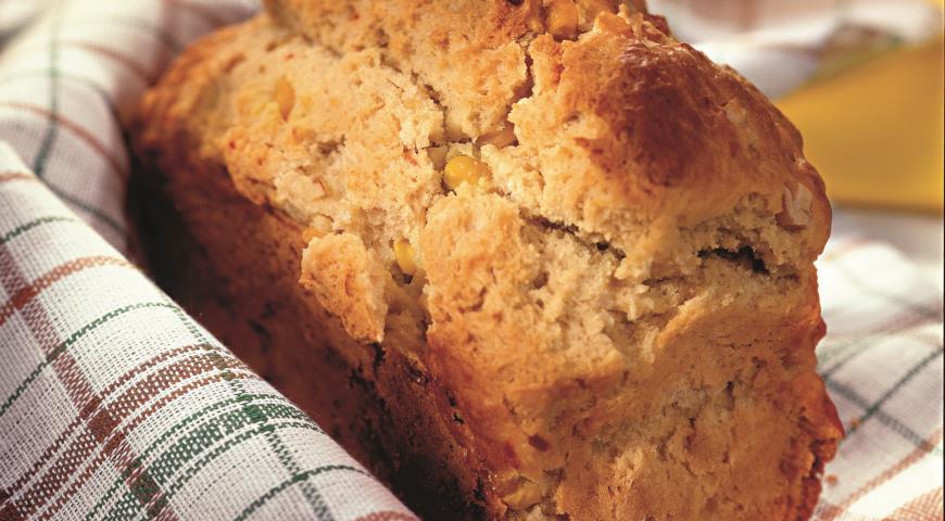 Рецепт Хлеб из кукурузной муки с чили