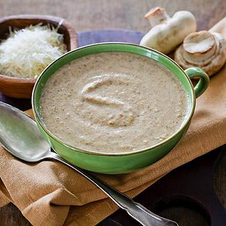 Рецепт Грибной суп-пюре в мультиварке