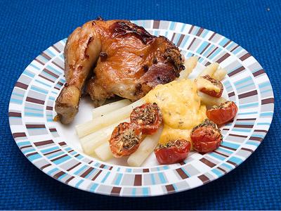 курица фаршилванная гречкой и яблоками