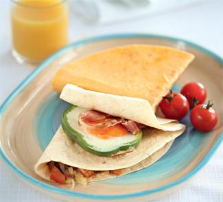 Завтрак в тортилье 2