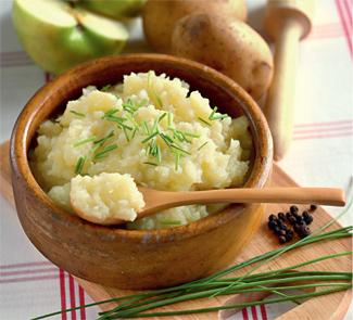 Рецепт Пюре из кольраби, сельдерея и картофеля