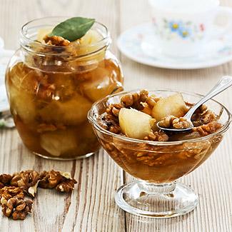 Рецепт Варенье из яблок с грецкими орехами в мультиварке