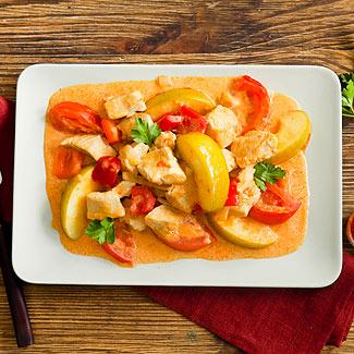 Рецепт Паприкаш с курицей в мультиварке