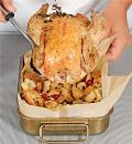 Запеченная курица с хлебным гарниром. Шаг 5