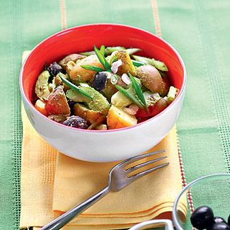 Рецепт Картофельный салат с оливками