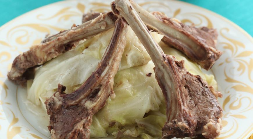 Рецепт Баранье рагу с капустой