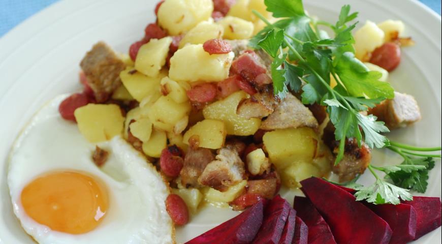 Рецепт Питтипанна, картофель с мясом