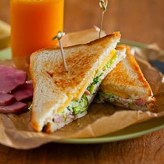 горячіє бутерброди рецептс картофілем
