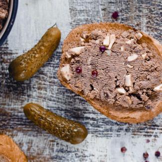 Рецепт Яичный паштет с печенкой