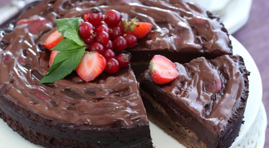 Рецепт Самый простой шоколадный пирог