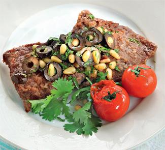 Рецепт Говядина с ореховой заправкой
