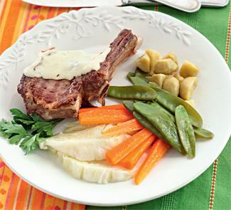 Рецепт Говядина c овощами по-милански