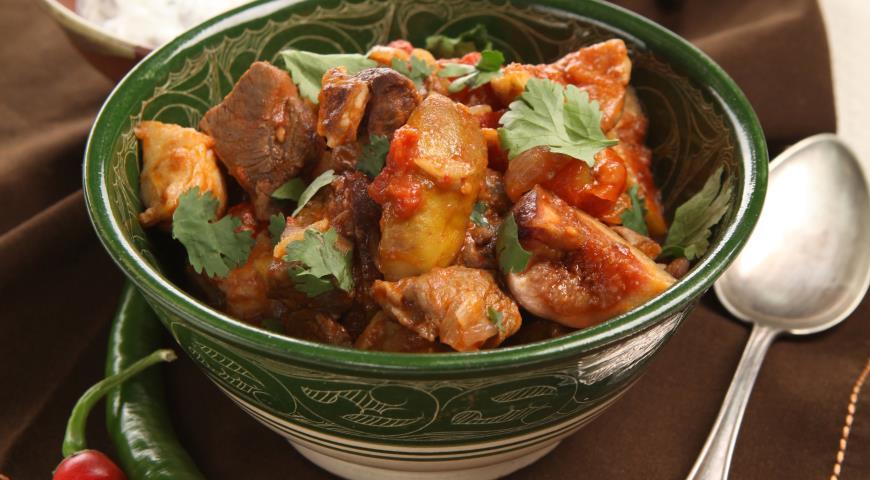 Рецепт Рагу из баранины с инжиром