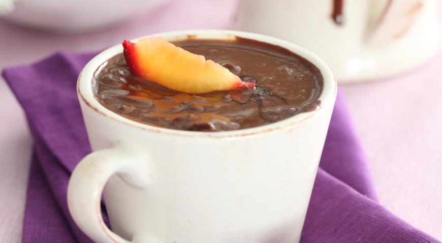 Рецепт Сливово-шоколадный мусс