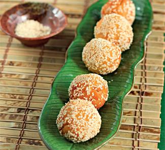 Рецепт Десертные шарики с инжиром