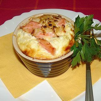 Рецепт Суфле из риса с семгой