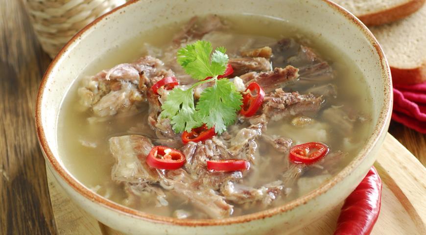 Рецепт Суп из бычьих хвостов