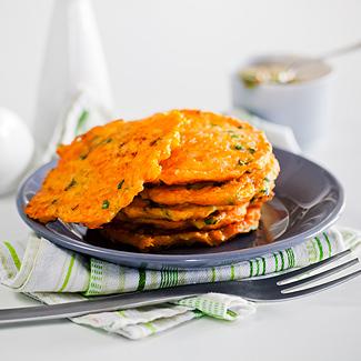 Рецепт Драники из моркови в мультиварке