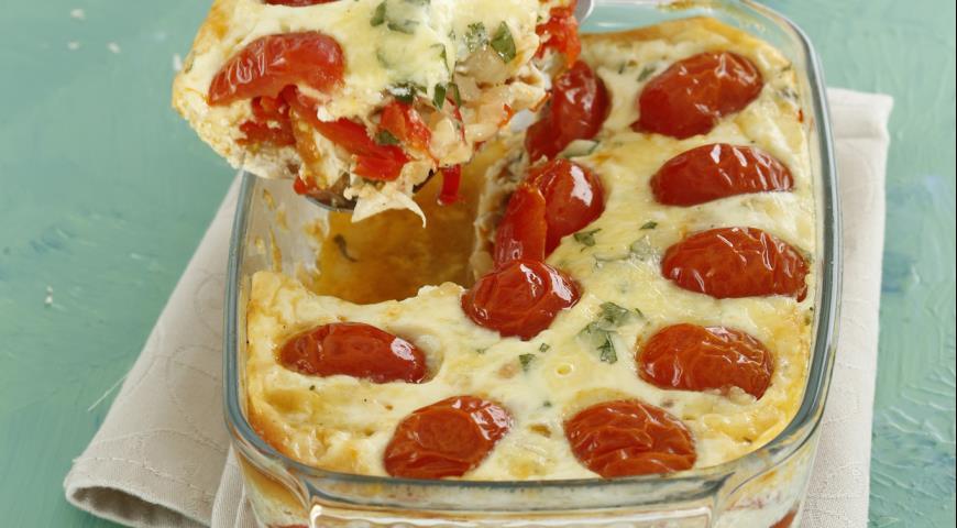 Рецепт Запеканка с курицей и овощами