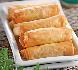 Рецепт Бриват, марокканские мясные сигары