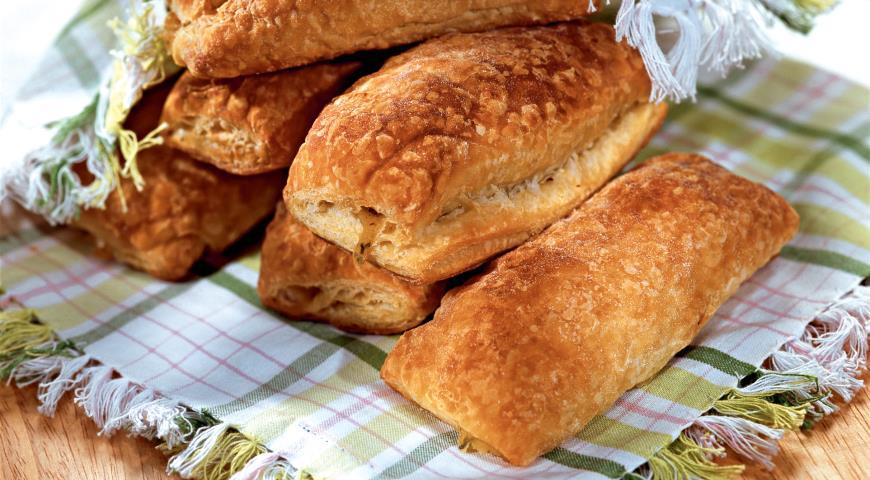 Рецепт Слоеные пирожки с фасолью