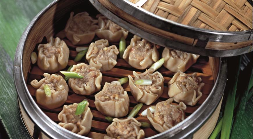 Рецепт Вонтоны, китайские пельмени