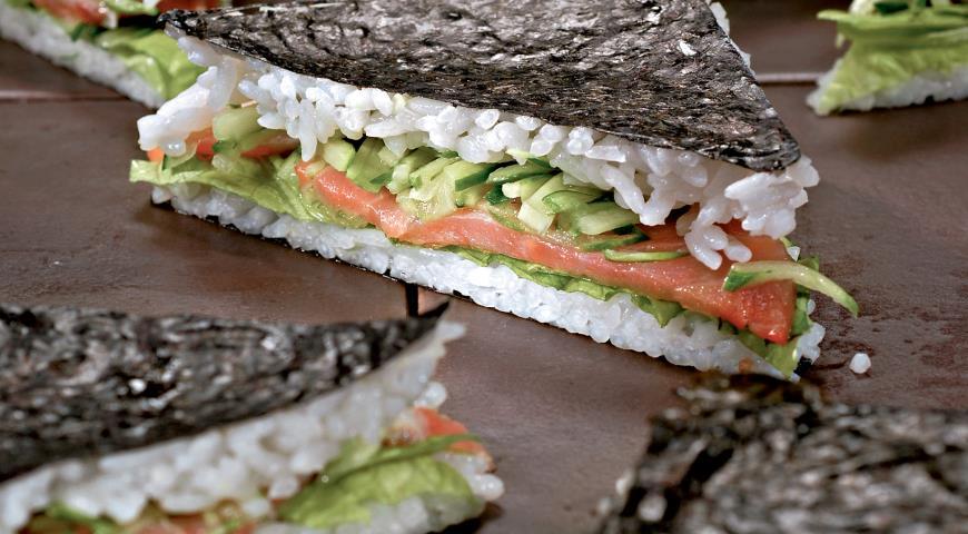 Рецепт Бутерброд-суши