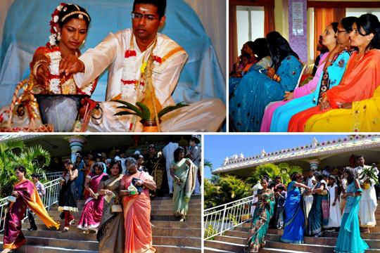 Тамильская свадьба на острове Маврикий