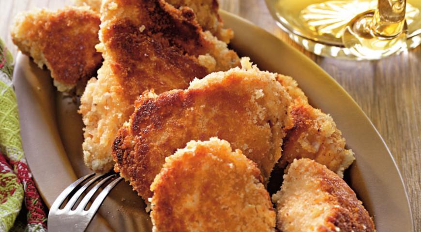 Рецепт Жареный цыпленок по-мэрилендски