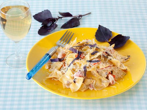 Рецепт Паста с помидорами и рикоттой